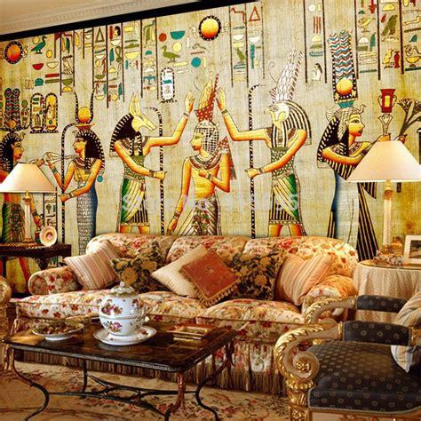 wallpaper bedroom mural roll luxury egyptian egypt