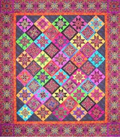 Kaleidoscope Kensington Quilt Benartex Fabric