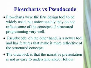 What Is The Difference Between Pseudocode And Flowchart