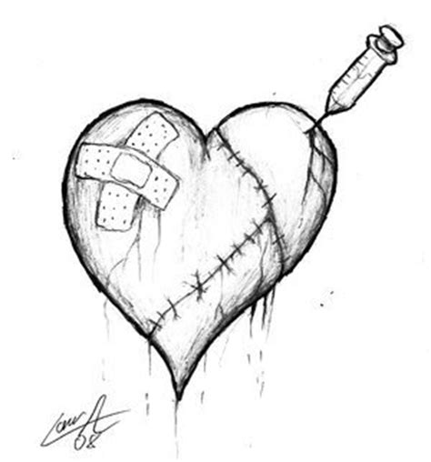 love quotes  sayings broken heart rose drawing quotesgram