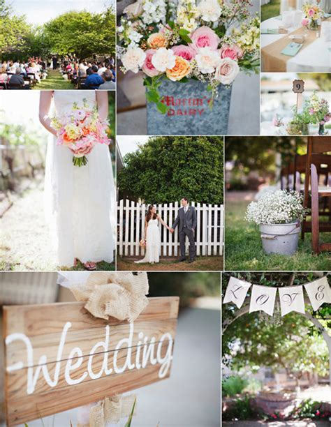 diy outdoor wedding ideas diy do it your self