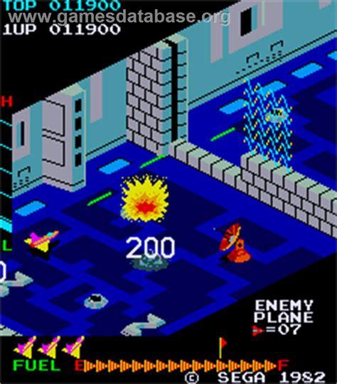 Zaxxon Arcade Games Database