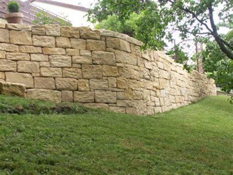 Mauer Ohne Mörtel by Trockenmauer Sandstein Abdeckung Gartenmauer