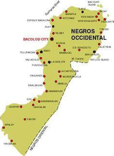 negros occidental map island map map occidental