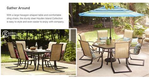 shop  hayden island patio collection  lowescom