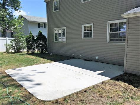 nj concrete work s services slabs driveways patios repair