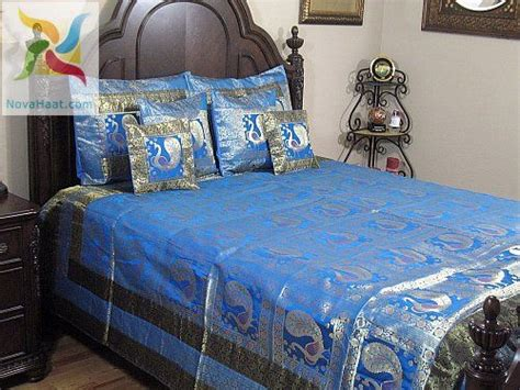 Peacock Bedding From India