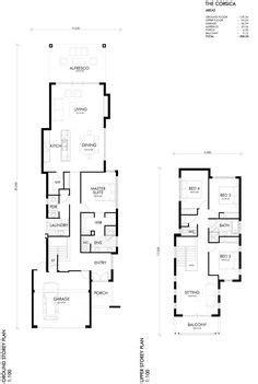 building broker sandford storey narrow lot home narrow house plans narrow house