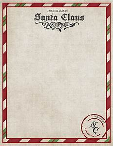christmas freebies letters from santa printables With santa letters from santa
