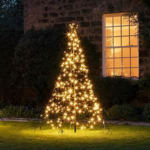 2m, Warm, White, Led, Fairybell, Outdoor, Christmas, Tree