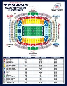 Houston Texans Seating-Chart