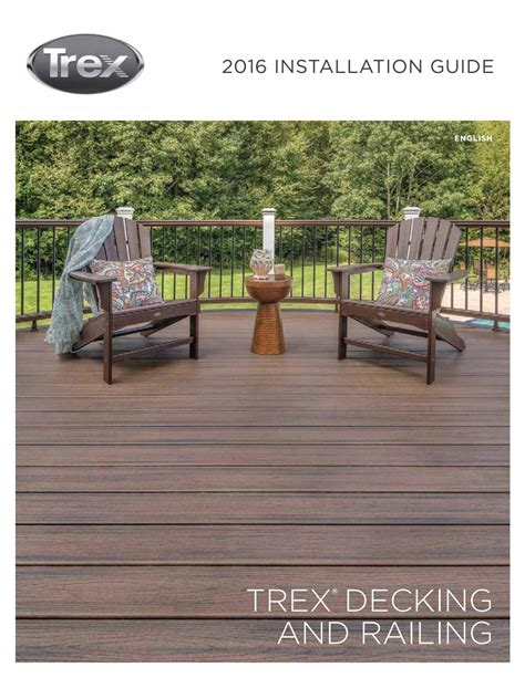 trex lighting installation guide trex installation guide 2016 by cliff morris issuu