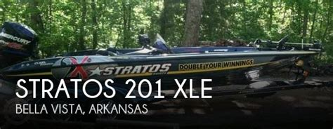 Stratos Boats For Sale In Arkansas by Stratos 201 Xle Boat For Sale In Vista Ar For