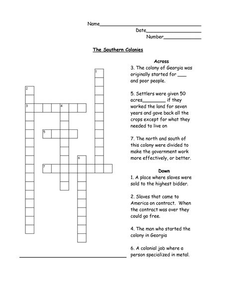 14 Best Images Of 13 Colonies Worksheets 5th Grade  13 Colonies Worksheets 5th Grade Crossword