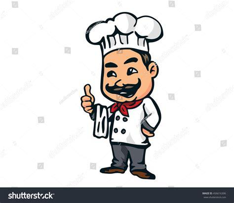 logo chef de cuisine modern restaurant chef logo stock vector