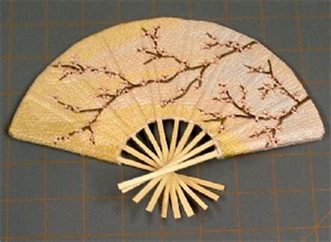 how to make a hand fan with fabric how to make a fabric hand fan handmade4all