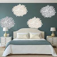 great flower wall decals Bedroom Flower Wall Decals - Floral Wall Decal Murals - Primedecals
