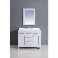 fairmont designs 42 inch framingham vanity polar white