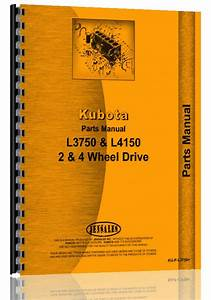 Kubota L4150 Tractor Parts Manual