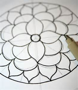 How to Draw Easy Mandala