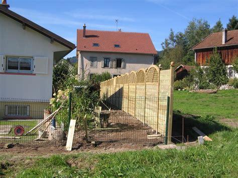 maison en panneaux de bois evasion jardin paysagiste r 233 f 233 rences panneaux bois et cl 244 ture rigide