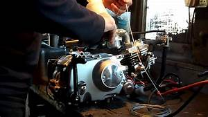 49cc 139mfa-2 4-stroke Engine Start