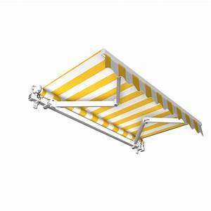 stabile aluminium markise alu gelenkarmmarkise With markise balkon mit tapeten kinderzimmer ebay