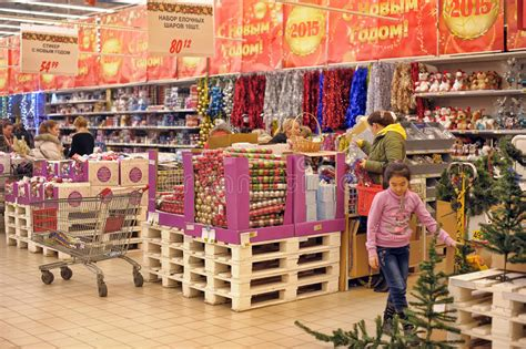 in the store to buy decorations editorial stock image image 47707044