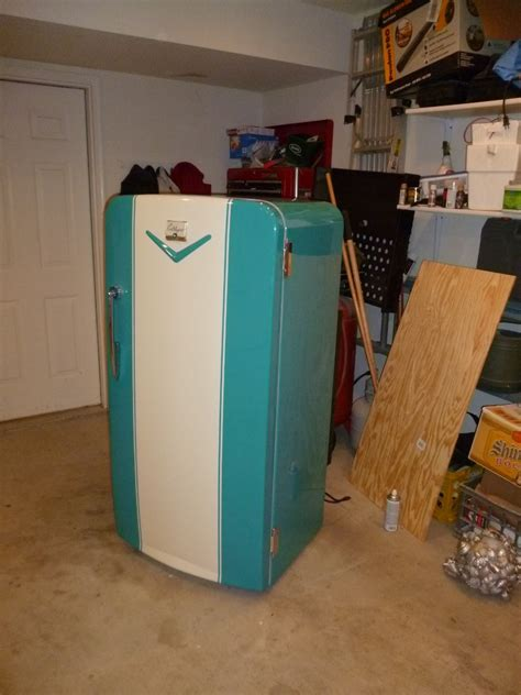 For Sale ? Restored 1952 Coldspot Refrigerator   The