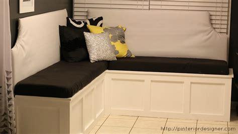 Woodwork Kitchen Corner Bench With Storage Plans Pdf Plans