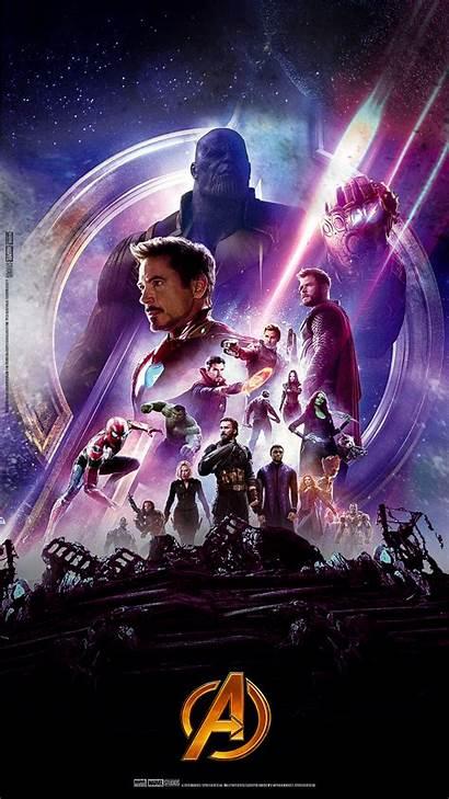 Avengers Infinity War Marvel Endgame Film Poster