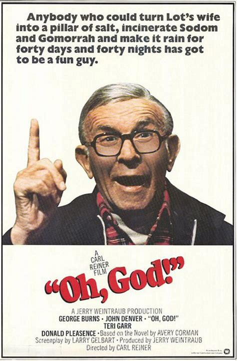 Film poster and an oh, god! ChuckyG's Rewatchable Movies - 1977