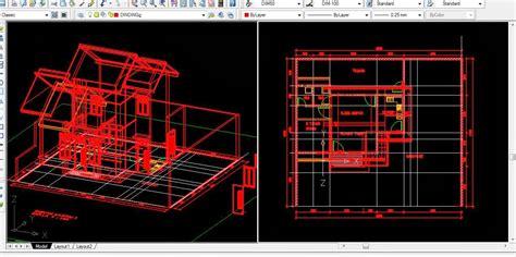 desain rumah minimalis format autocad desain