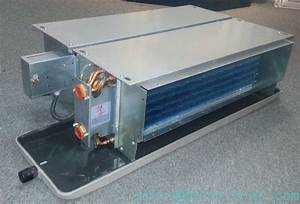 Ceiling Concealed Fan Coil Units With Ec Motor 4 Pipe  Fp