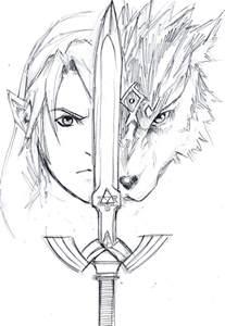 Zelda Twilight Princess Link Drawing