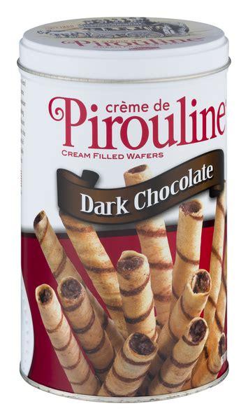 Pirouline Dark Chocolate Artisan Rolled Wafers | Hy-Vee ...