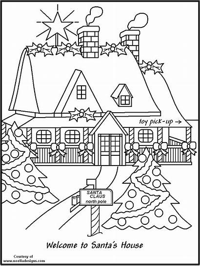 Pole Coloring North Pages Christmas Drawing Printable