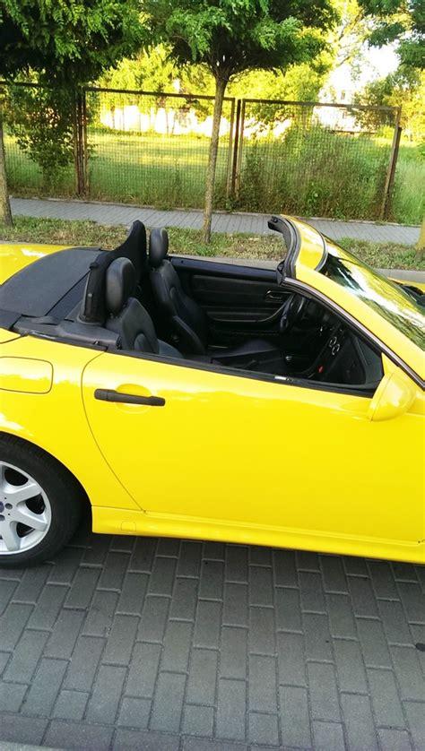 Does anybody know the cause and fix of the problem? Mercedes SLK R170 192 kM Żółty - 7283166313 - oficjalne ...