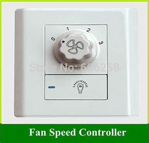 Fans chandelier wall switch fan speed controller ceiling light power ac v in