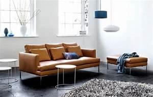 Bo Concept Soldes : canap 3 places en cuir brun istra boconcept ~ Melissatoandfro.com Idées de Décoration
