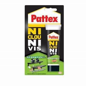 Ni Clou Ni Vis Pattex : pattex colle ni clou ni vis d montable tube 100 g castorama ~ Dailycaller-alerts.com Idées de Décoration