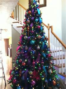 best 25 colorful christmas tree ideas on pinterest bright christmas decorations colorful