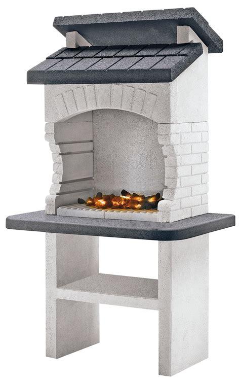 barbecue da giardino prezzi barbecue palazzetti olbia 110x71x176 cm legna griglia