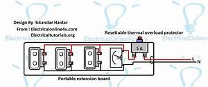 Extension Board Wiring Diagram