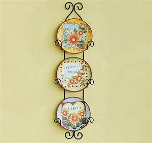 Hanging decorative wall plates home decor art