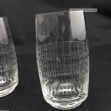 Wasserglaser Kristall by 5 Alte Kristall Wassergl 228 Ser Saftgl 228 Ser D 252 Nnwandig Feiner
