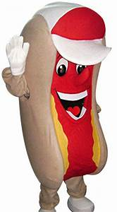 Hot Dog Mascot Costume Fast Food Character Adult Outfit ...