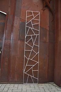 Edelstahl Sichtschutz Metall : rankgitter aus edelstahl mit original schmitzstruktur trellises rankgitter ~ Orissabook.com Haus und Dekorationen