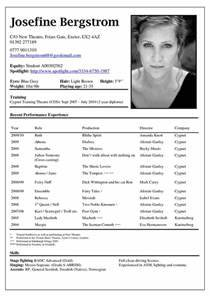 Best 25 Acting Resume Template Ideas On Pinterest