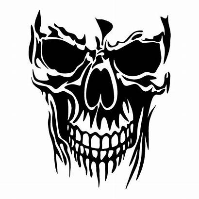 Skull Sticker Decals Stickers Funny